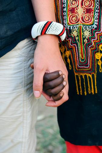 hand holding istockphoto