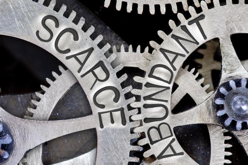 scarcity abundance