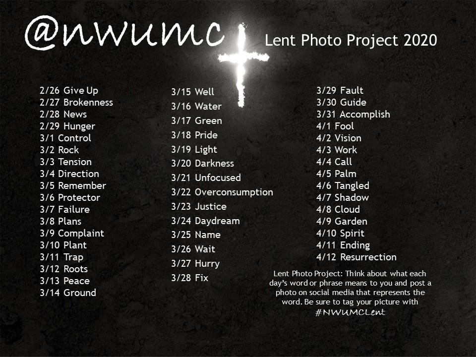 lent photo challenge 2020